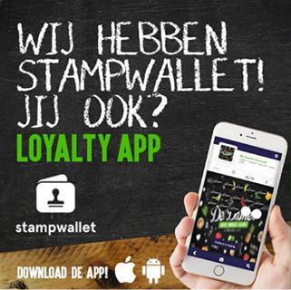 Wij hebben Stampwallet! Jij ook? Loyalty App